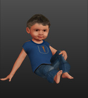HQ Child Model (Game Ready)