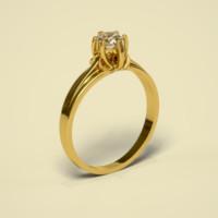 cnc diamond gold 3d max