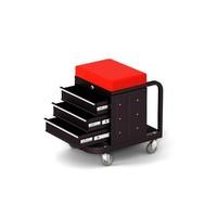 tool box seat 3d model