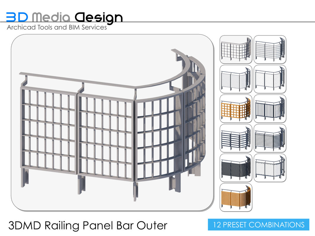 3ds 3dmd railings