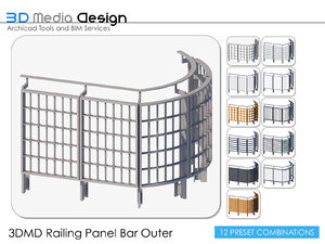 3ds 3dmd railings