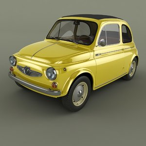 3d 1960 steyr puch 500 model