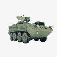 3d m1127 reconnaissance vehicle model
