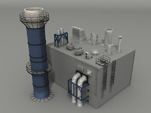 factory rooftop items 3ds