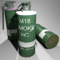 3d model ready smoke