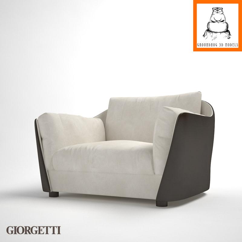 3d groundhog | giorgetti vittoria model
