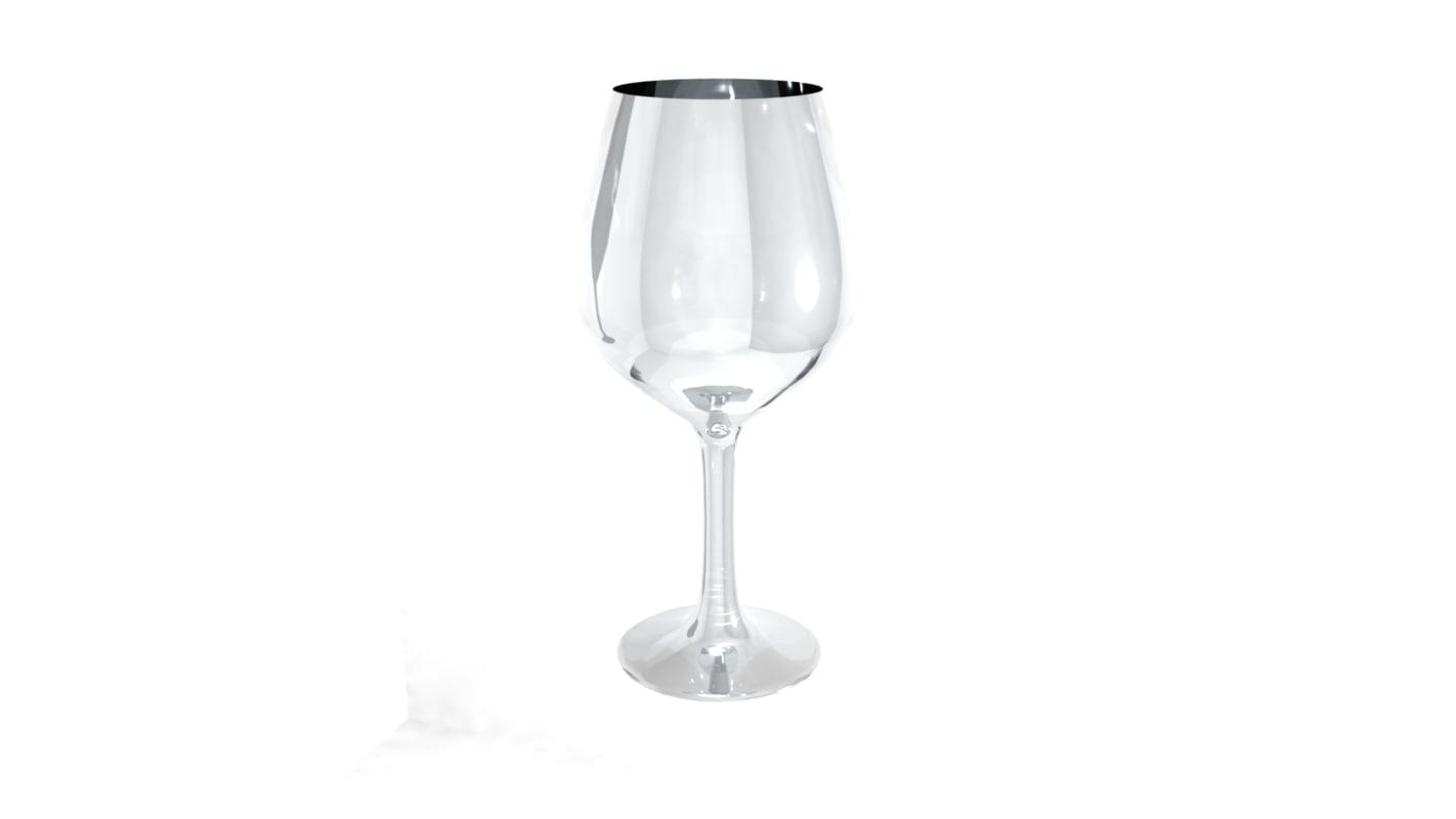 3d burgundy wineglass glass model