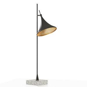 graham table lamp 3d model