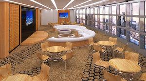 3d model emirates towers al