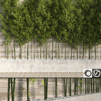 3d bamboo tree 2