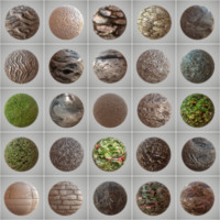 25 Seamless PBR Materials Collection Vol 2