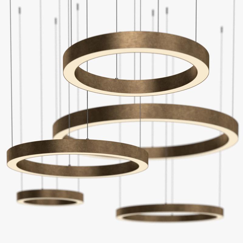 3d henge - light ring model