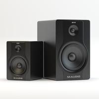 3d speakers m-audio bx8 bx5 model