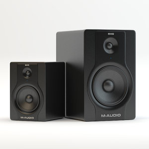 3d speakers m-audio bx8 bx5 model
