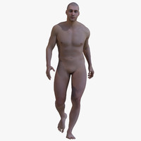 male body rigging 3d max