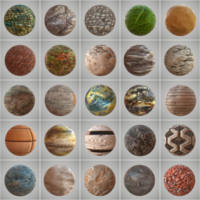 25 Seamless PBR Materials Collection Vol 3