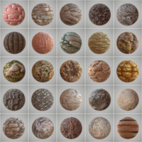 25 Seamless PBR Materials Collection Vol 4
