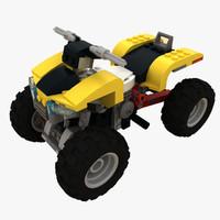 lego turbo quad 3d 3ds