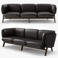 De La Espada - Nichetto 102L Stanley 3 seater sofa