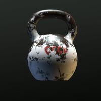 3d kettlebell bell model