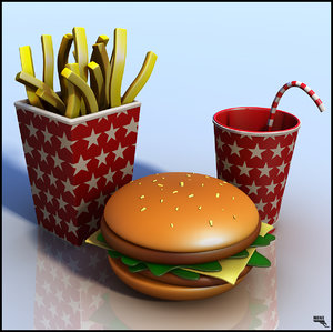 obj food fries