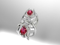 ruby ring 3d 3dm