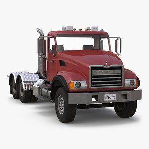 mack truck 3d model