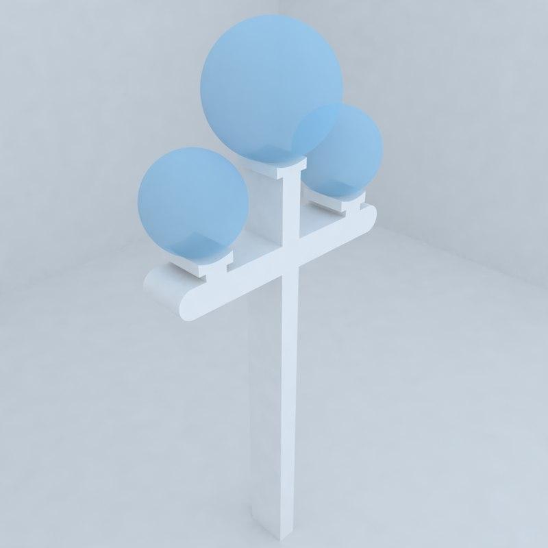 3d architectural lighting model