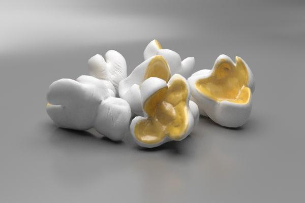 3d pop corn popcorn