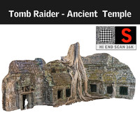 3d ancient tree temple 16 model