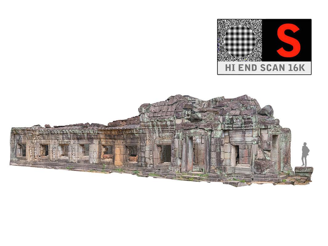 ancient tree temple 16 3d model