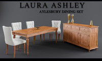 laura ashley aylesbury dining table max
