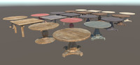 Wooden tables pbr