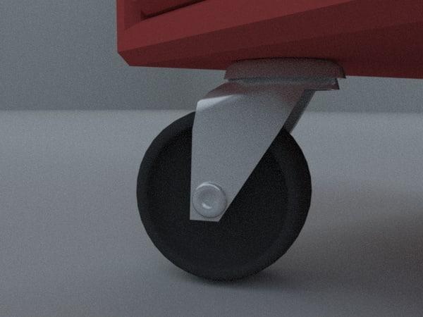 3d model wheel chair furniture