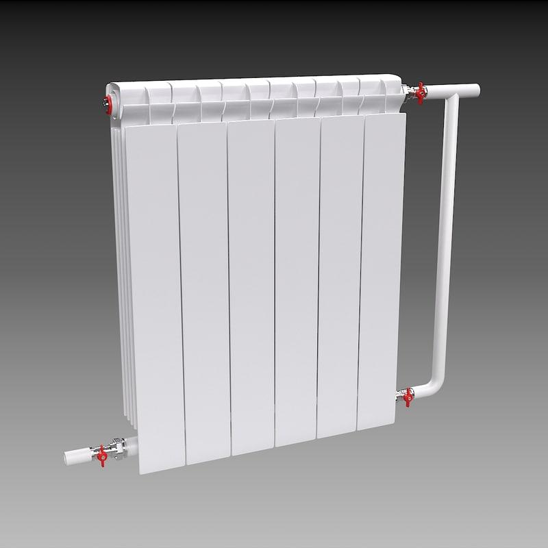 free 3ds model radiator