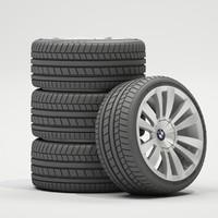 3d model car wheels