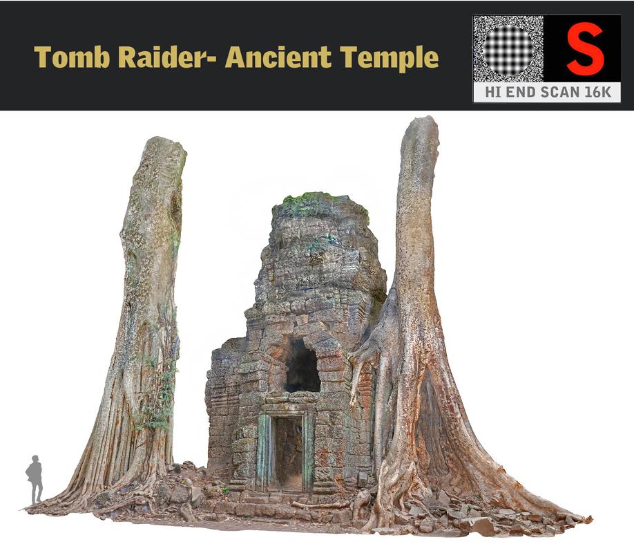 3d ancient tree temple 16