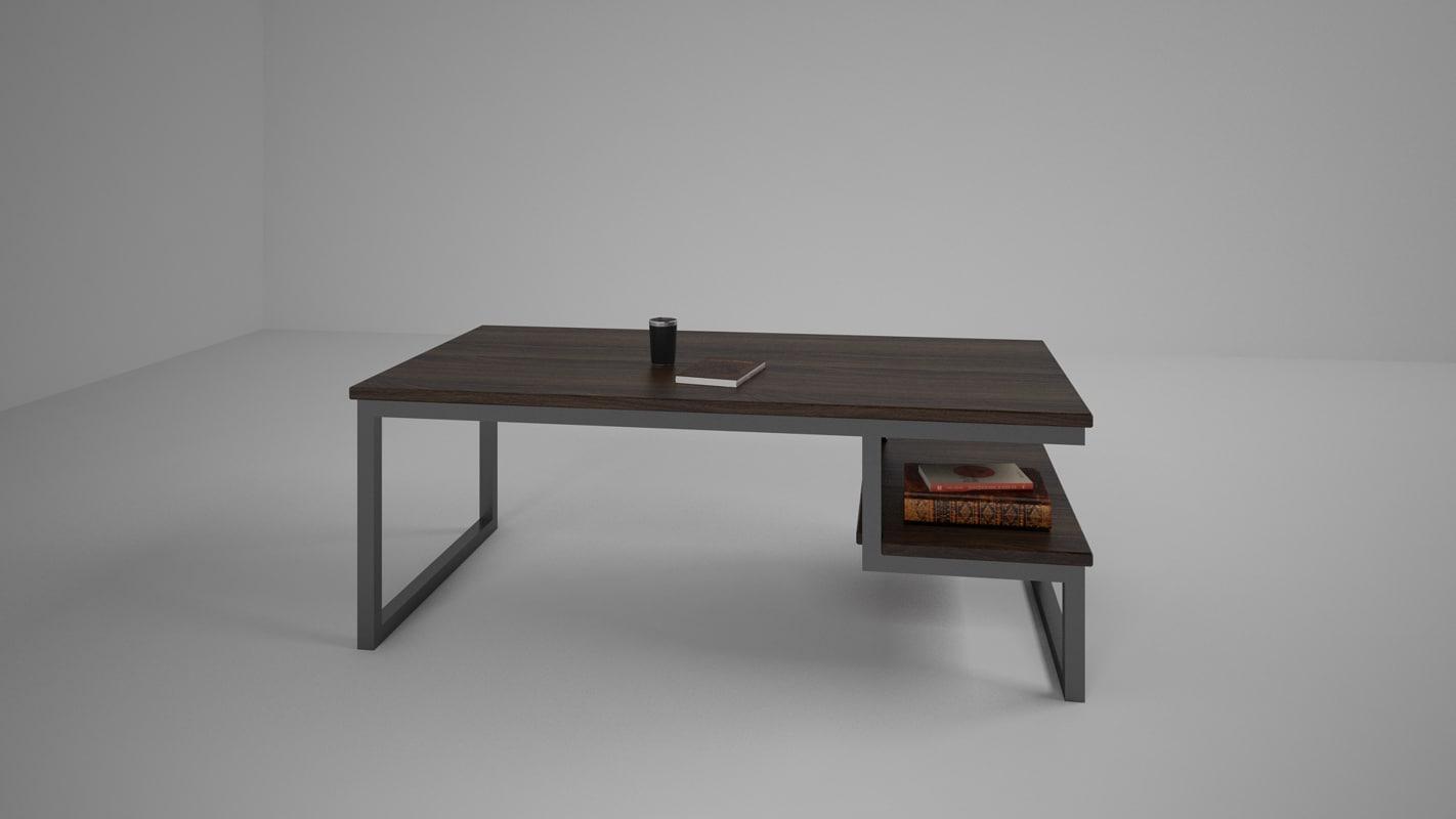 3d nice coffee table