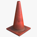 traffic cones 3D models