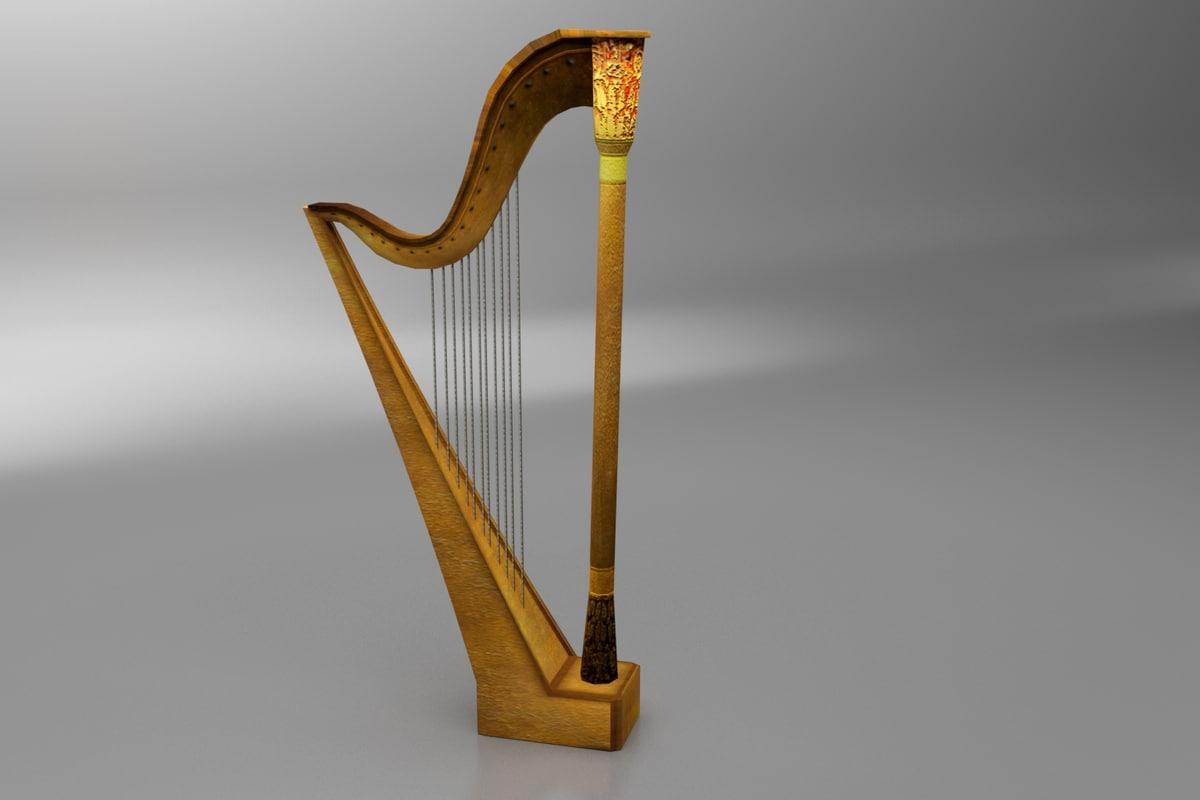 harp asset 3d max