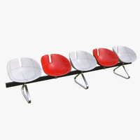 3d fjord bench sistema chairs