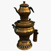 teapot samovar 3d model