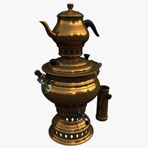 teapot samovar 3d model