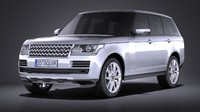 land range rover 3ds