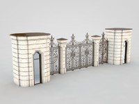 3ds architectural element 3