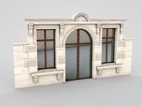 architectural element 5 3d model