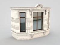 architectural element 7 3d model