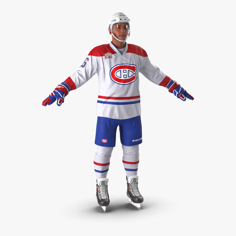 3d hockey player montreal canadiens