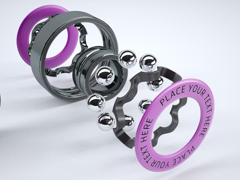 3d bearing model