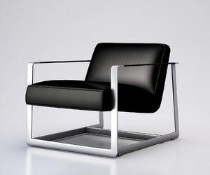 crosby armchair chair 3d max